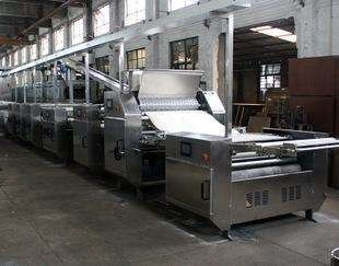 Full Automatic Soft / Hard Biscuit Production Line / Whole Machine Line